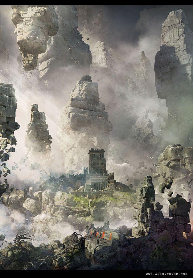 ArtStation - City of Gods, Dimitar Tzvetanov