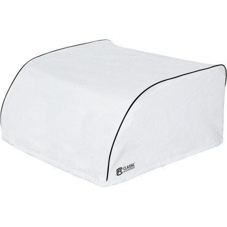 Classic Accessories RV Air Conditioner Storage Cover, White