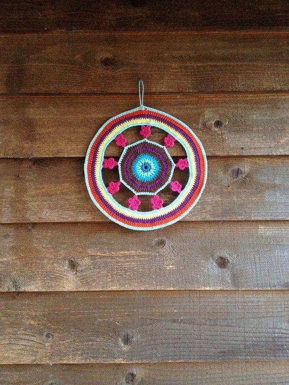 Flower Mandala Crochet by FlowingBuenaVida on Etsy