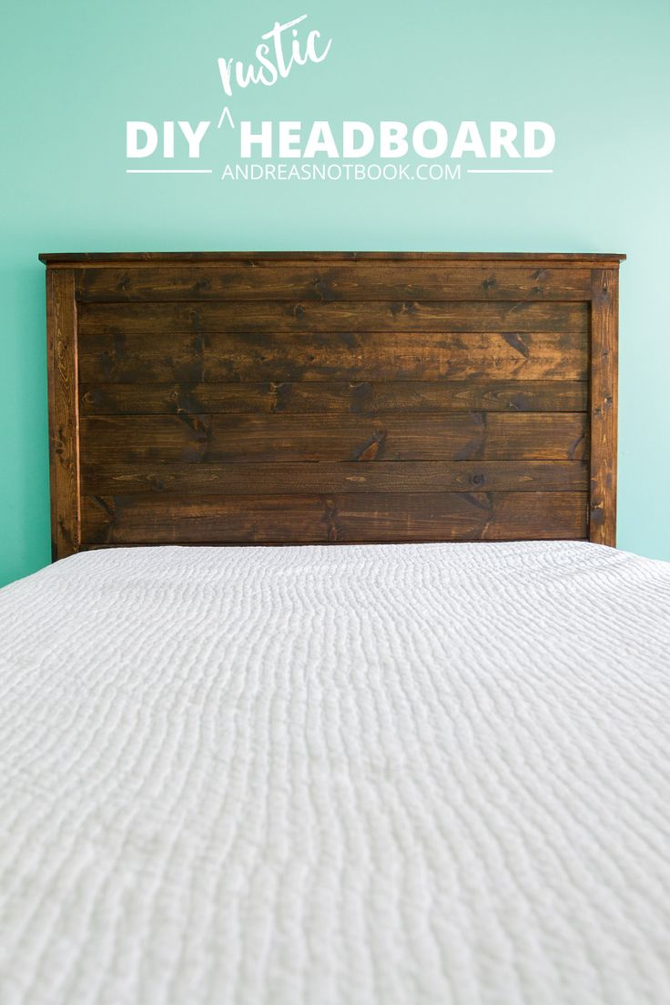 Make Your Own Diy Rustic Headboard Ad Diy Tutorials For Your Home