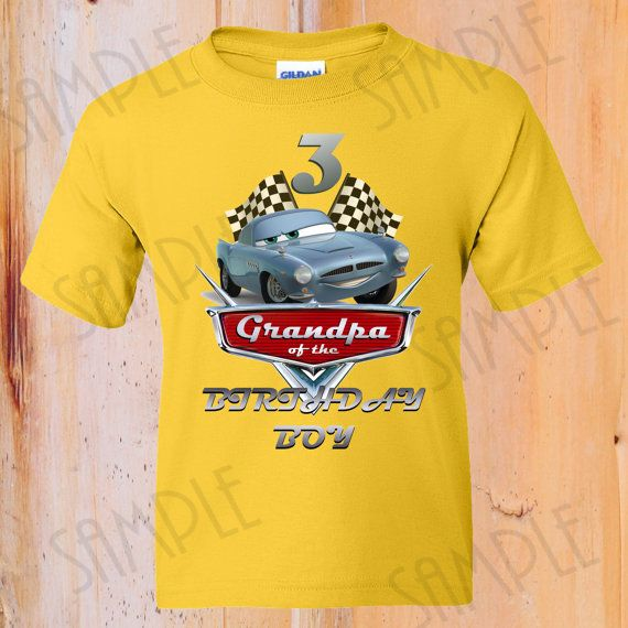 38 best images about cars t shirt birthday ideas on for Diy custom t shirts