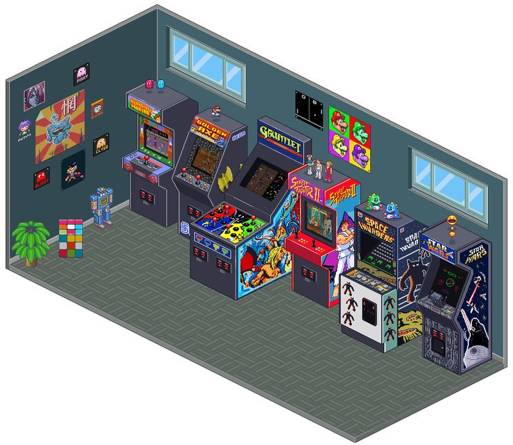 25 Best Ideas About Arcade Game Room On Pinterest Game