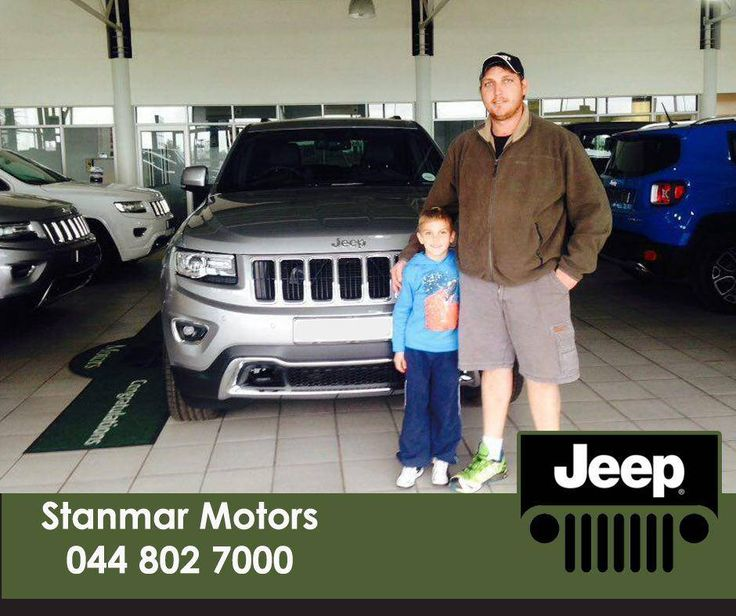 Congratulations To Mr Burrows On Purchasing A Brand New Jeep