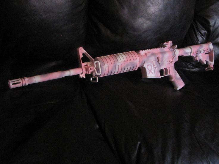 Pink Gun for Cancer