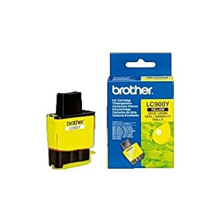 Bläckpatron Brother LC900 gul Passar till: Brother MFC-210.