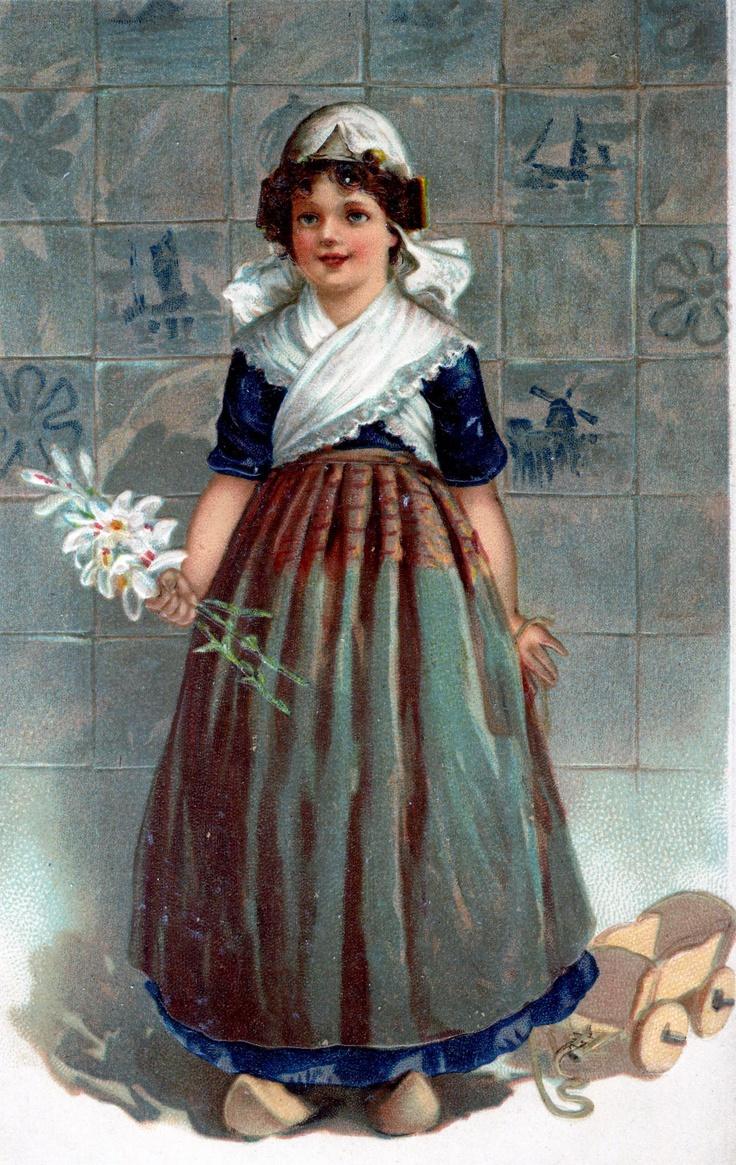 172 best vintage dutch postcards images on Pinterest