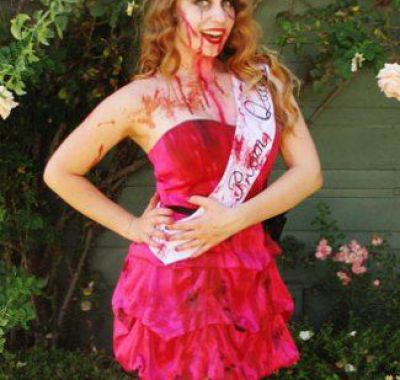 Zombie Prom Queen Hairstyles