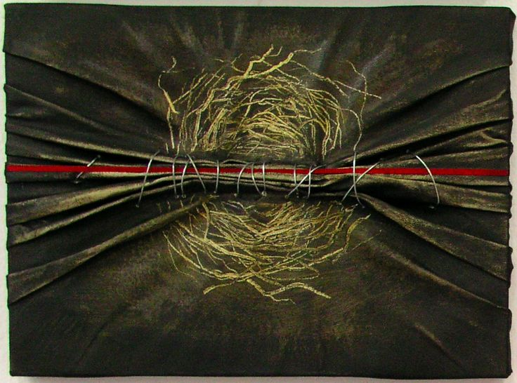 G. Dalli Cani - painting, wire. Nest