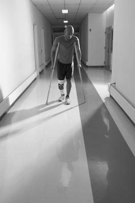 Post ACL Surgery: Straight leg raises, heel slides, quadriceps stretch, hamstring curls