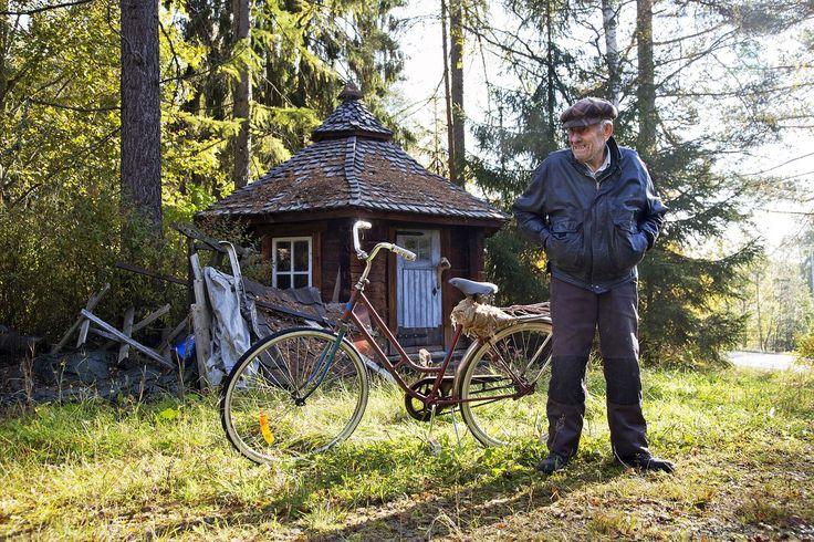Rauni Uotila rakensi käsin komean kivitalon | ET