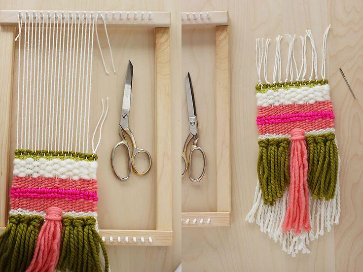 18 Best Painted Warps Images On Pinterest Weaving Loom
