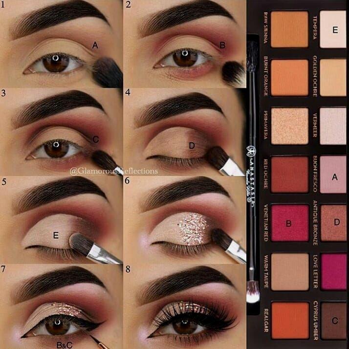 Tutorial de maquiagem dos olhos, #augen #tutorial   – Make-up Anleitung