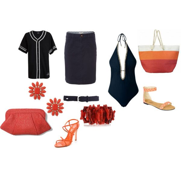 """Beach daily style for curvy"" by raffaellaclausi on Polyvore"