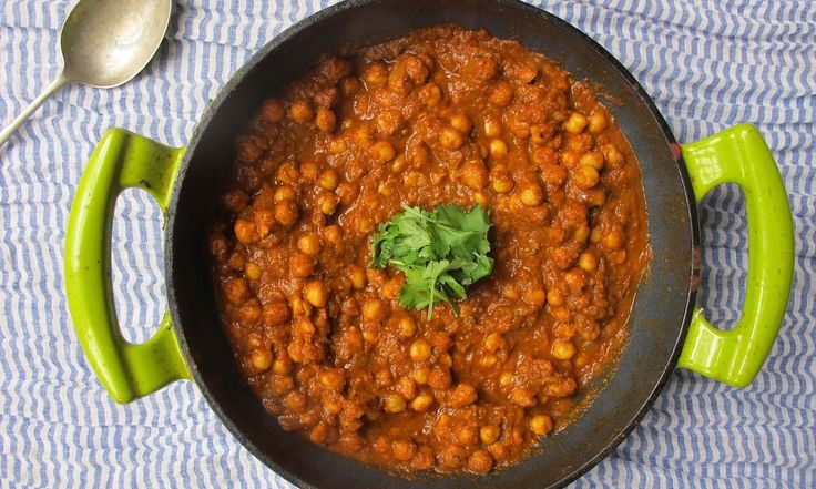 Whether eaten as a snack, main meal or even for breakfast, this tangy chickpea curry is arguably the most popular vegetarian dish in India. But should you used dried pulses or tinned, add or omit fresh coriander – and can you really eat it with pasta and parmesan?