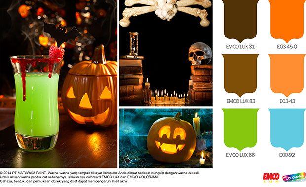 Dekorasi Halloween Datangkan Untung #Inspirasi #Warna http://goo.gl/2peyOC