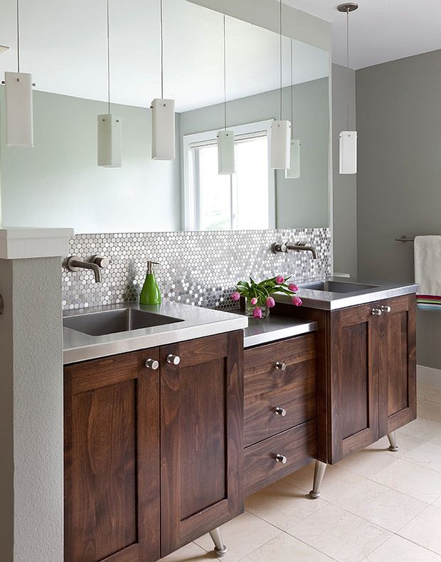 1550 best images about bathroom vanities on pinterest traditional bathroom contemporary bathrooms and bathroom vanity cabinets - Kitchen Bathroom Design