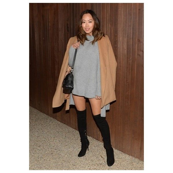 Four new ways to bawse over-the-knee boots ❤ liked on Polyvore featuring shoes, boots, above knee boots, over-the-knee boots, above the knee boots, thigh boots and over-knee boots