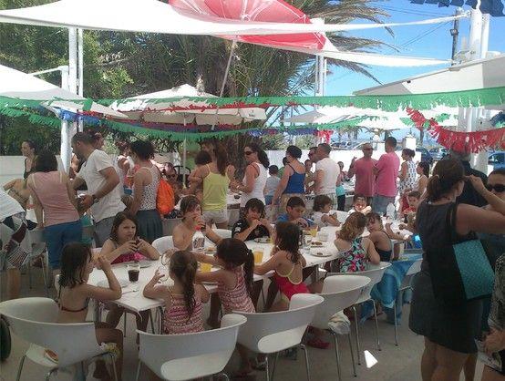Celebración en Albaranas  fin de curso 2013