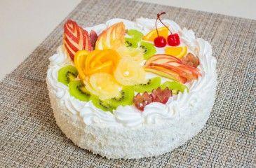 Фруктовый торт - рецепты с фото. Как приготовить в домашних условиях торт с фруктами и кремом пошагово