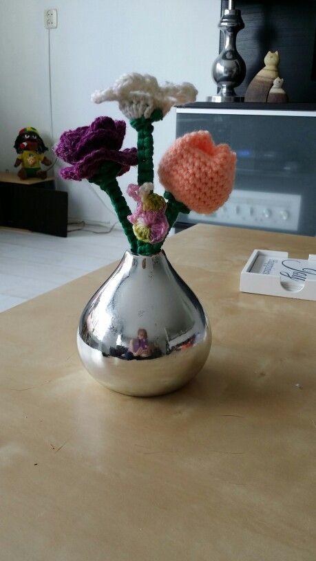 Vaasje bloemen
