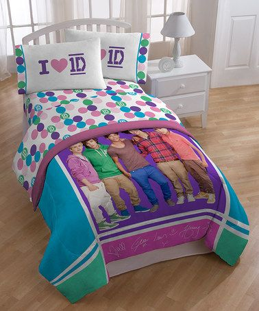 Marvelous Take A Look At This One Direction Comforter Set By Jay Franco And Sons On #