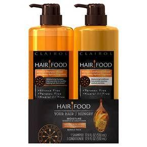 Clairol Hair Food Honey Apricot Moisture Shampoo + Conditioner - 35.8 oz : Target