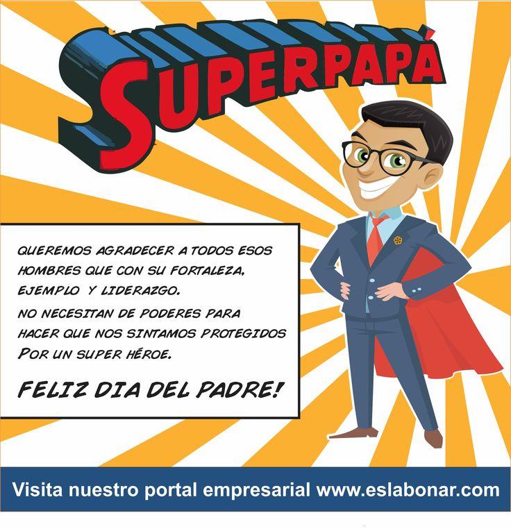Creacion de piezas graficas para redes sociales.  #DiaDelPadre #FelizDiaDelPadre #SuperPapá