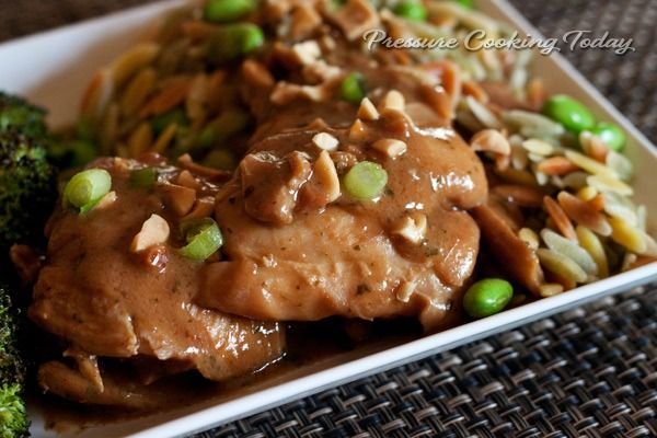 Pressure Cooker Thai Chicken Thighs | Pressure Cooking Today