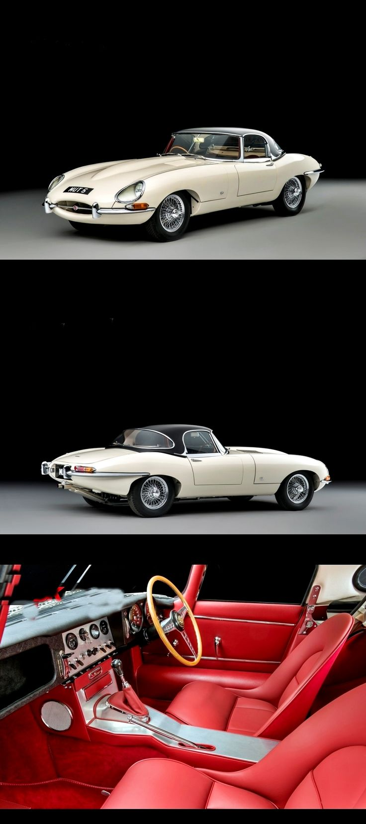 1961 Jaguar E-Type SI Flat Floor Roadster with Outside Bonnet Locks