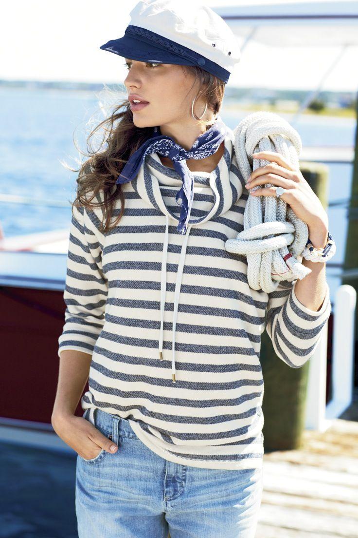 Long live the nautical look. #ChapsBrand #Kohls