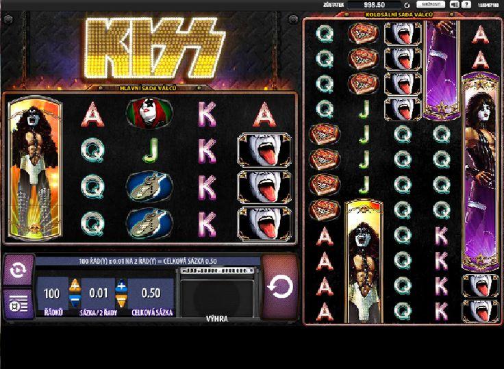 Hracie automaty Kiss - Hracie automaty Kiss podľa rovnomennej rockovej kapely KISS sa maximálne odlišuje od klasických automatov. Hru Vám spríjemní rocková hudba známej skupiny, ktorá bola úspešnou a slávnou hlavne v 70-tych a 80-tych rokoch 20-teho storočia. #HracieAutomaty #VyherneAutomaty #Jackpot #Vyhra #Kiss - http://www.automatove-hry-zadarmo.com/hry/hracie-automaty-kiss