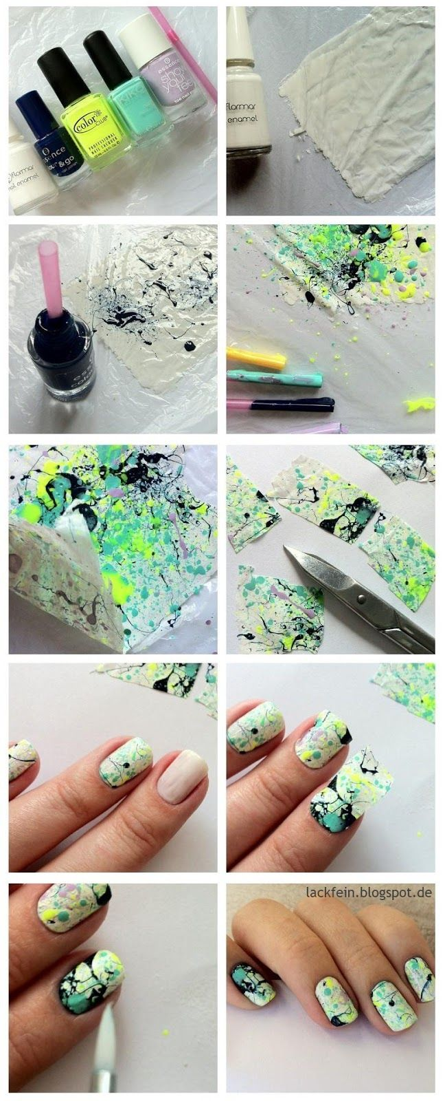 Splatter tutorial