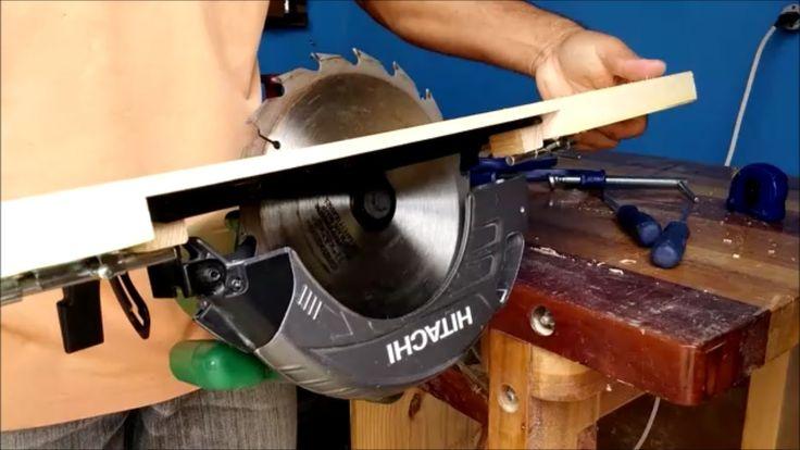 Mesa para Inversão da serra circular manual, simples e facil