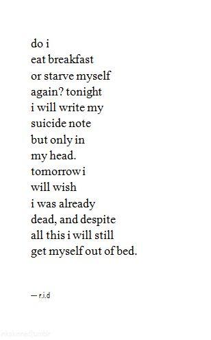 Just let me die