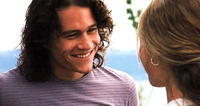 No man will never live up to the perfection that is Heath Ledger in 10 Things I Hate About You. It's science.