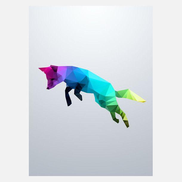 Flying Fox Crystal Print