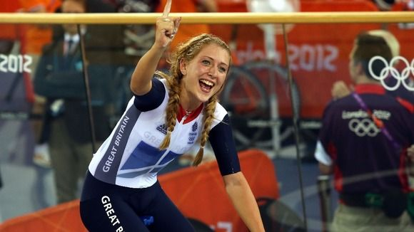 Team GB's Laura Trott fittest olympic cycling girl