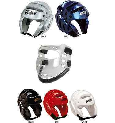 Head Gear 179780: Proforce Headguard Helmet And Face Shield Mask Karate Sparring Gear Set BUY IT NOW ONLY: $56.95