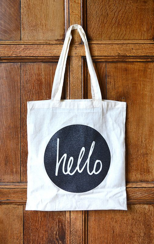 Crafting Confessions: hello tote bag created with the @Cricut®®®® Explore.