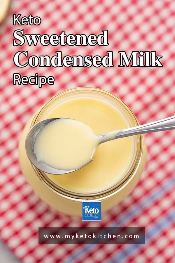 Keto Condensed Milk Recipe Sugar Free Naturally Sweetened Recipe In 2020 Milk Recipes Sweetened Condensed Milk Recipes Condensed Milk Recipes
