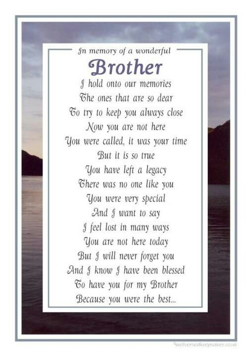 missing brother in heaven quotes | Daddy, mama & brother are happy together in heaven.