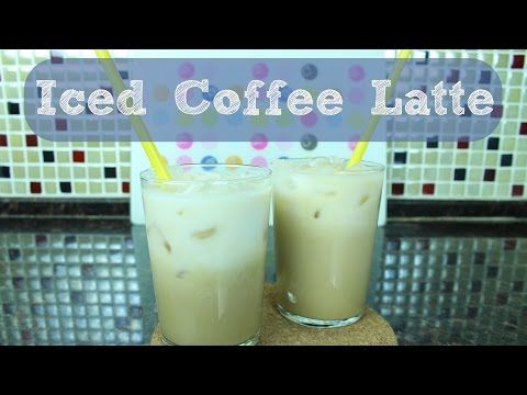 Iced Coffee Latte - Ice Latte - Buzlu Kahve Tarifi - YouTube