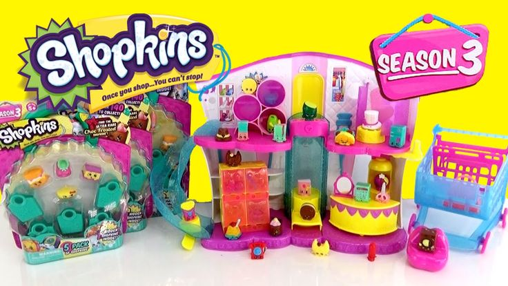 Shopkins Season 4 Countdown Celebration with Season 3 5 Pack and 12 Pack opening
