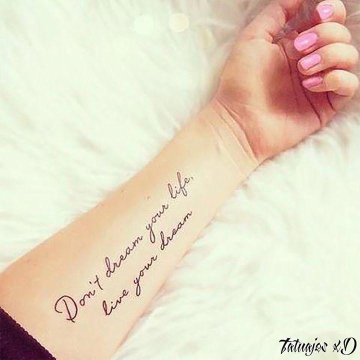 No sueñes tu vida vive tu sueño - http://ift.tt/2arflYR