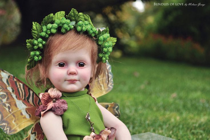 Reborn Fairy Doll... from the 'cricket' sculpt by Donna ...