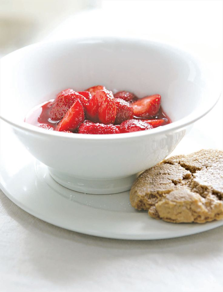 Macerated strawberries recipe from River Cottage Every Day by Hugh Fearnley-Whittingstall | Cooked