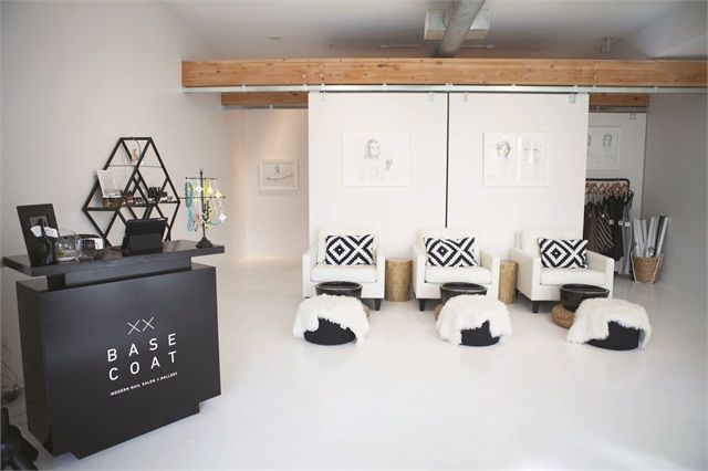 Base Coat Incorporates Art and Simplicity Into a Modern Salon www.nailsmag.com