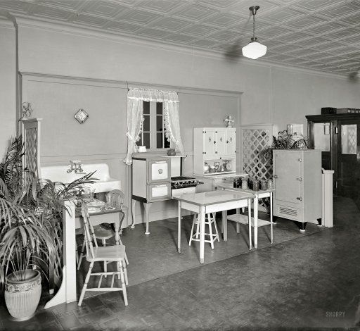 "Model Kitchen, 1926--""Woodward & Lothrop Kitchen."" A"