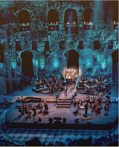Can you think of a better way to overcome the Sundays blues than attending a concert at an ancient theater?