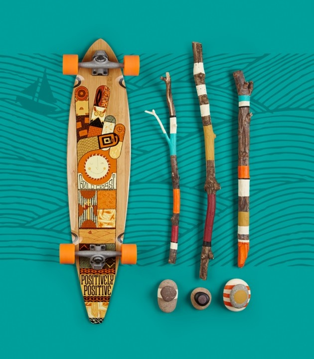 Perfekt Goldcoast Transcends Skate And Enters The Art Realm With Its Longboards!